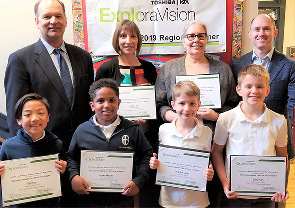 27th ExploraVision K-3 first place