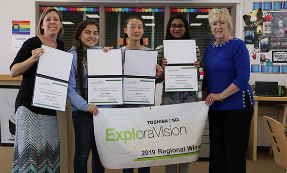27th ExploraVision 10-12 First Place